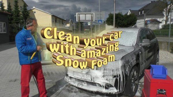 XXL EUCALYPTUS SNOW FOAM AUTO WASH CLEANSER (FOAM LANCE SHAMPOO)